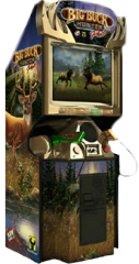 Big Buck Hunters arcade game